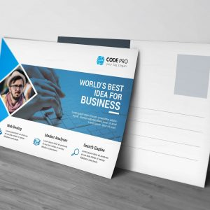 Mortgage Postcard Design Template