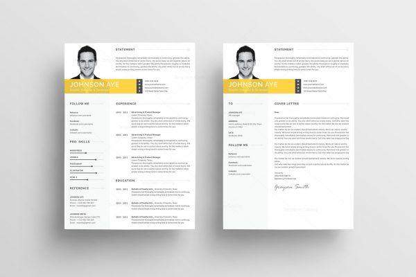 Premium Curriculum Vitae Template