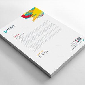 Retail Letterhead Design Template