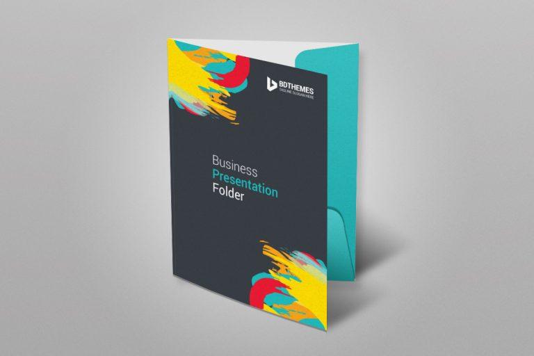 Retail Presentation Folder Template 1