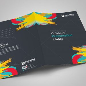 Retail Presentation Folder Template