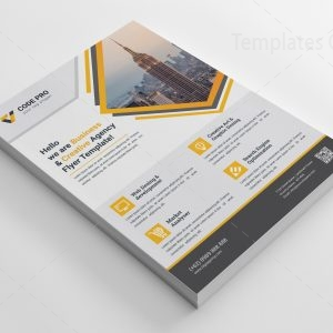 Agency Print Flyer Template