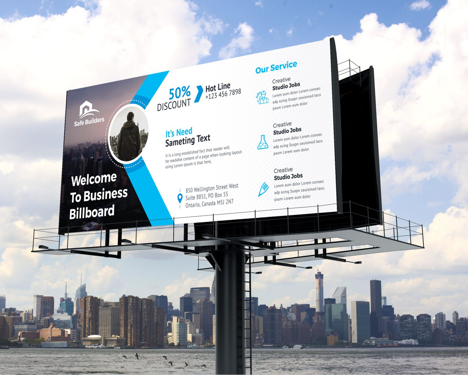 billboard banner design 002422