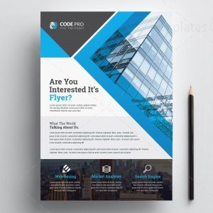 Construction Print Flyer Template