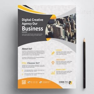 Excellent Print Flyer Template