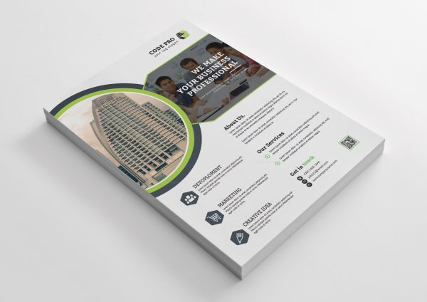 Office Corporate Business Flyer Design