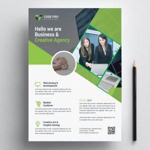 Print Creative Flyer Design