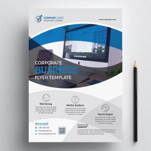 Print Ready Computer Flyer Design