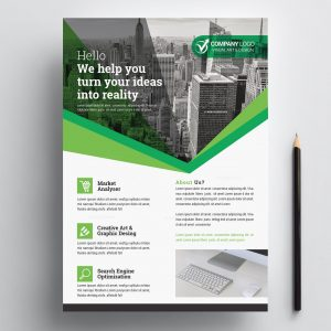 Print Ready Corporate Flyers