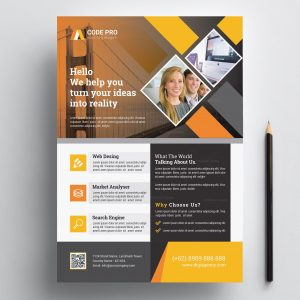 Print Ready Corporate Flyer Design