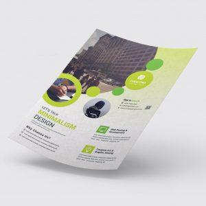 Print Ready Education Flyer Design