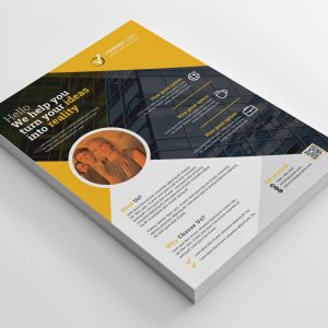 Print Ready Executive Flyer Design