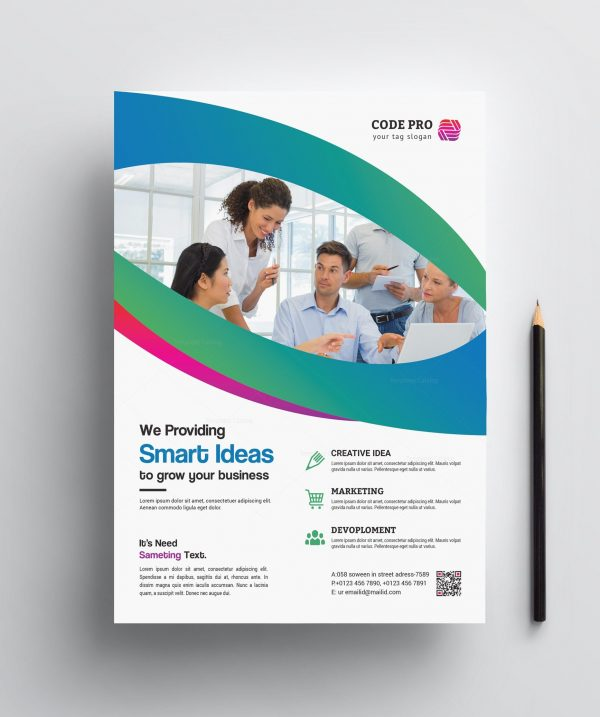 Printable Corporate Business Flyer