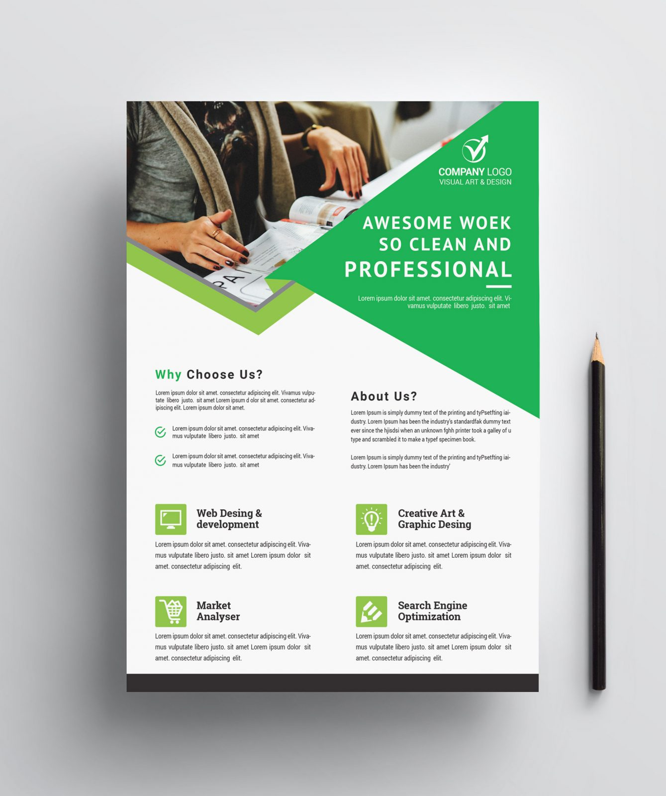 Professional Business Flyer Design 002400