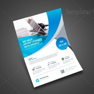Simple Print Flyer Template