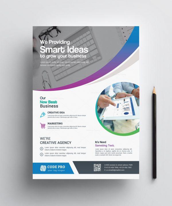 Printable Business Flyer Design