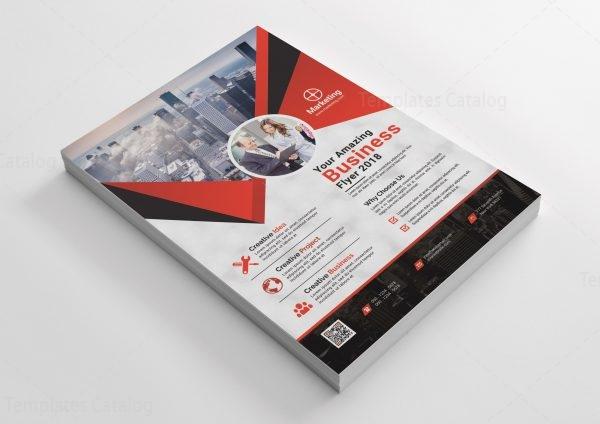Marketing Print Flyer Design
