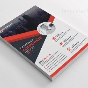 Simple Print Flyer Templates