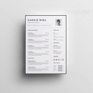 Simple Resume Design Templates