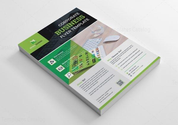 Web Design Print Flyer Template